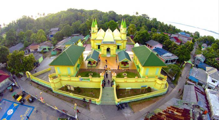 Panorama Mesjid Raya Sultan Riau