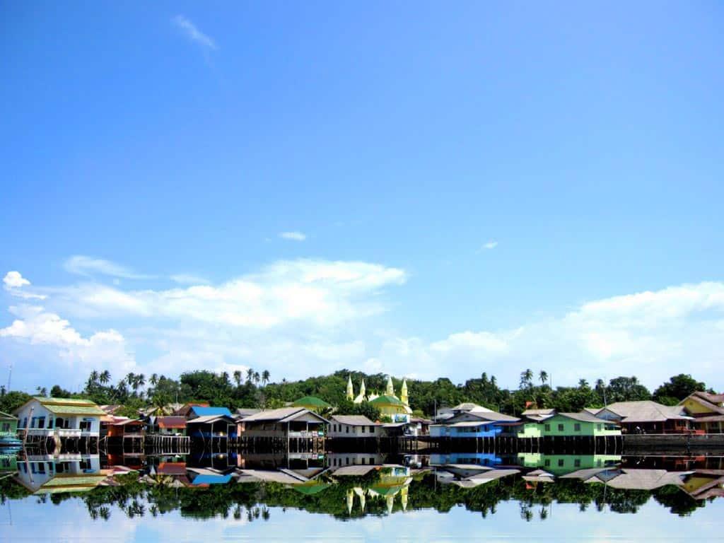 Lanscape Mesjid Raya Sultan Riau
