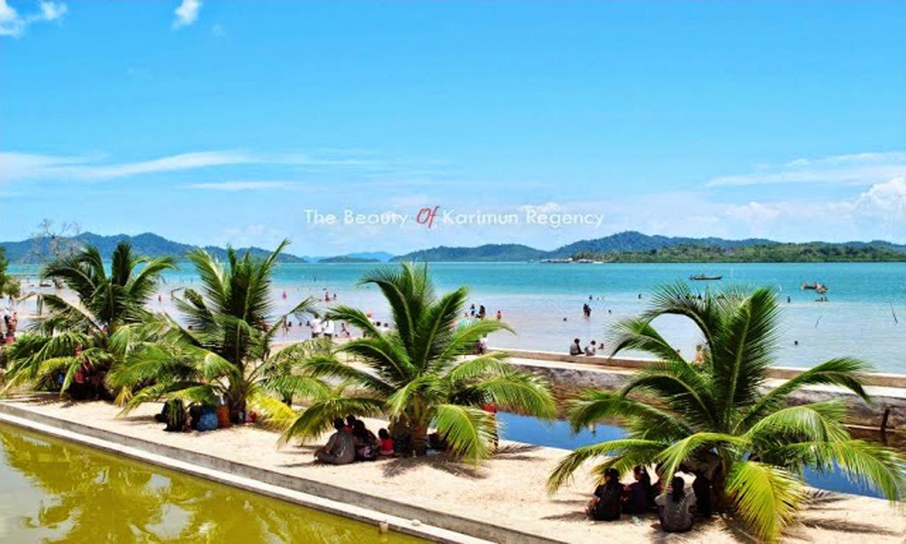wisata pantai kabupaten Karimun kepri