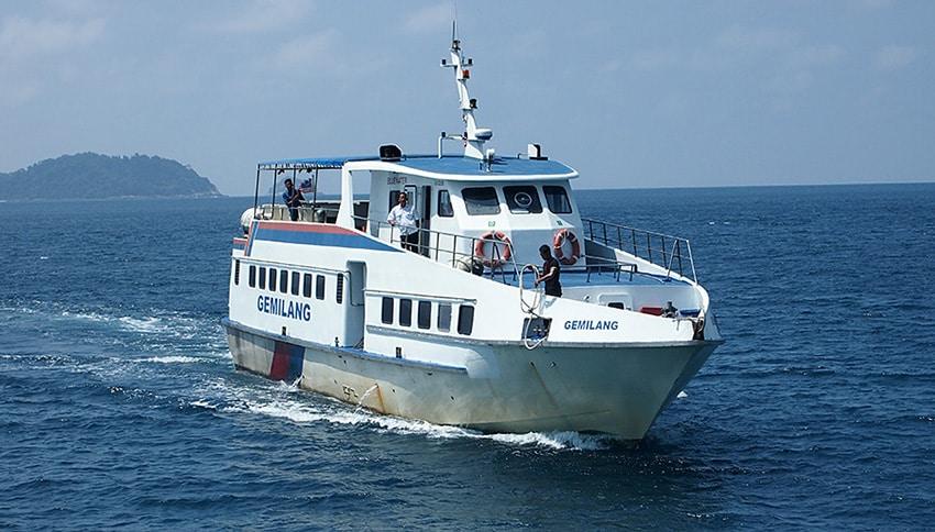 Jadwal Kaparl Ferry