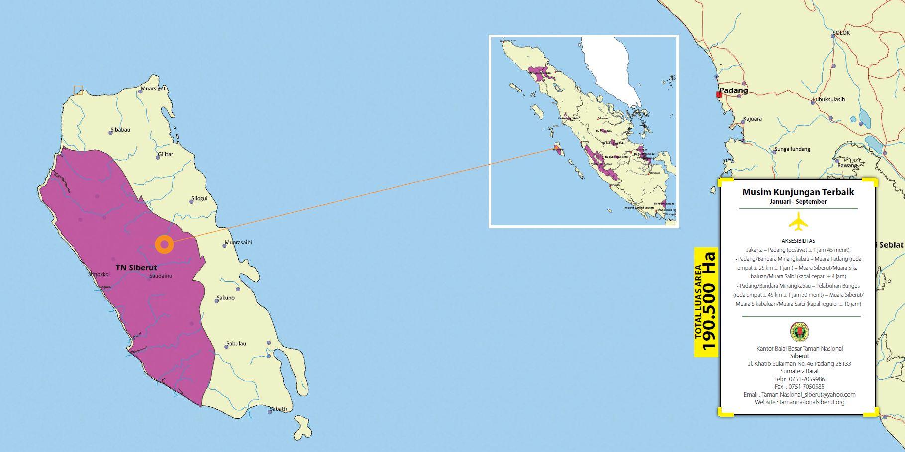 Peta Siberut1