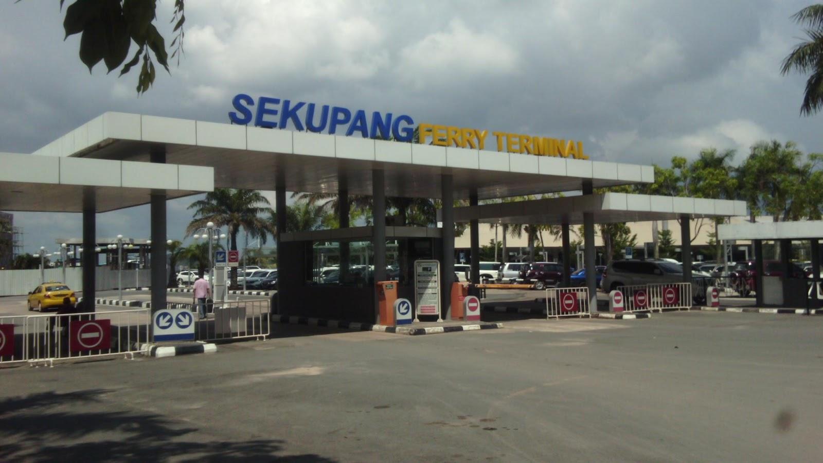 Terminal Ferry Sekupang Batam
