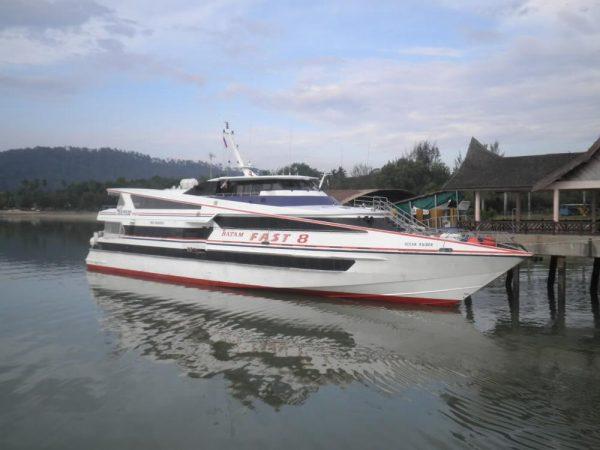 Tiket Ferry pinang batam