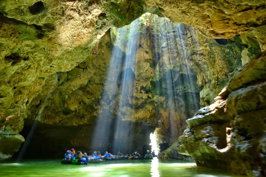 Wisata eksotis Goa pindul dan goa Gelatik di Gunung kidul